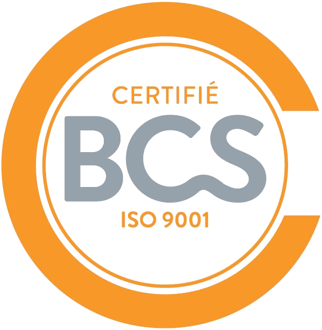 Logo certification BCS ISO 9001